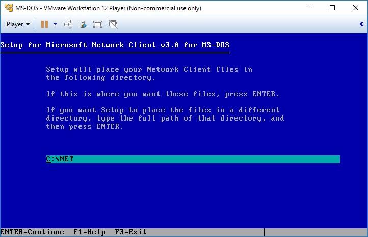 vmware_msdos_msnetworkclient_installation01
