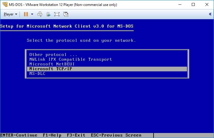 vmware_msdos_msnetworkclient_installation09